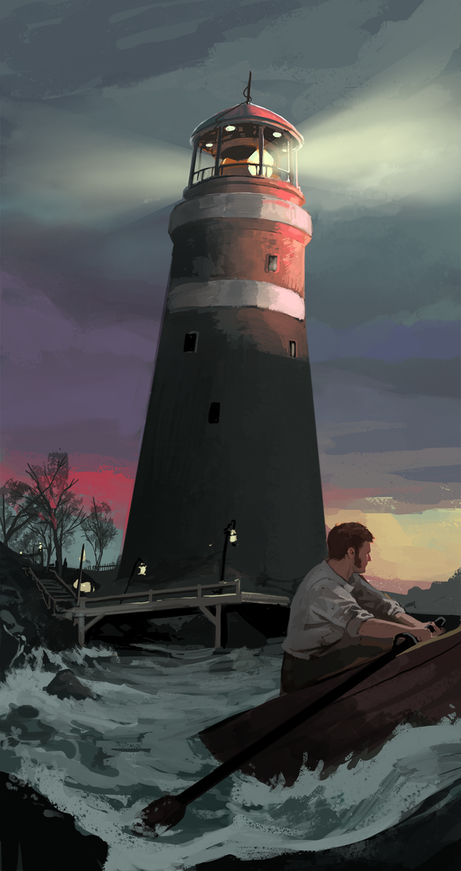 Lighthouse by TheMichaelMacRae
