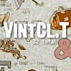 Vintage Pattern Textures LARGE