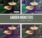 Garden Monsters Action Pack