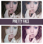 Pretty Face Action Pack
