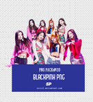 PNG PACK#20 BLACKPINK 5P