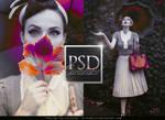 03 PSD Coloring -  Ojos de papel