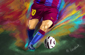 Messi Leg