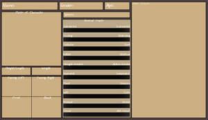 Character Ref. Sheet Template -DOWNLOAD- (Update!)