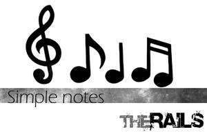 Simple Notes brush pack