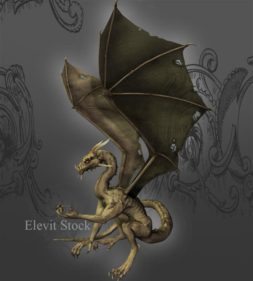 E-S Dragon Zombie by Elevit-Stock