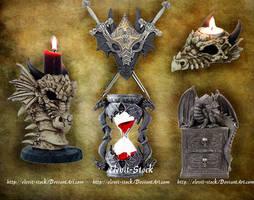E-S Dragon pieces II by Elevit-Stock