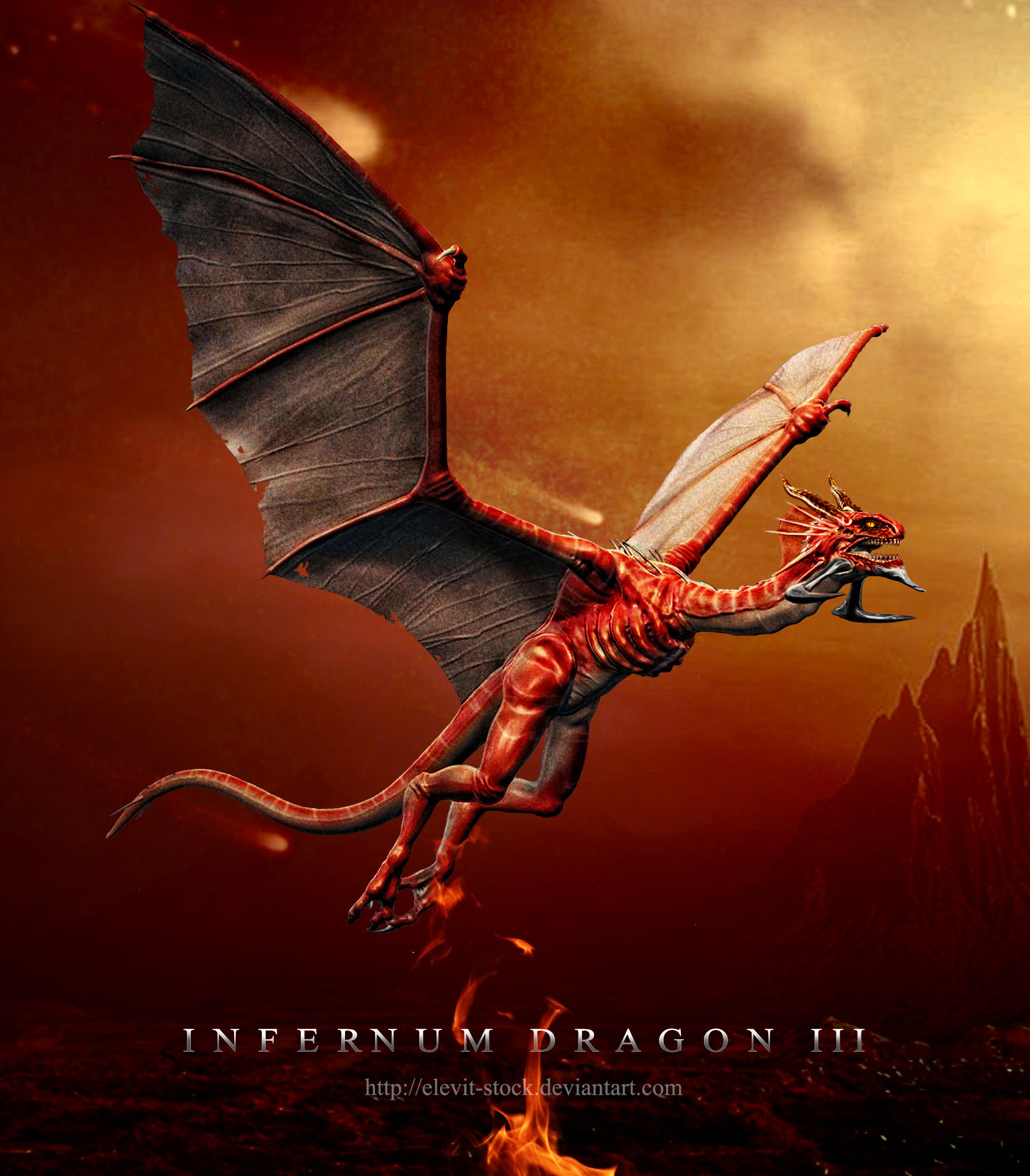 E-S Infernum Dragon