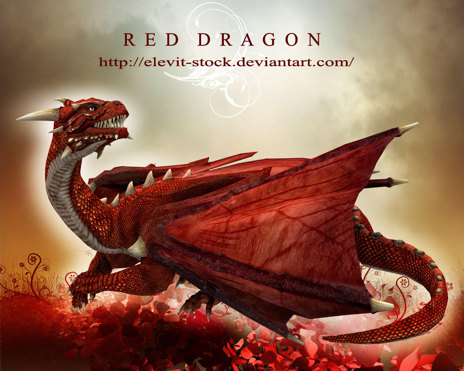 E-S Red Dragon II by Elevit-Stock on DeviantArt