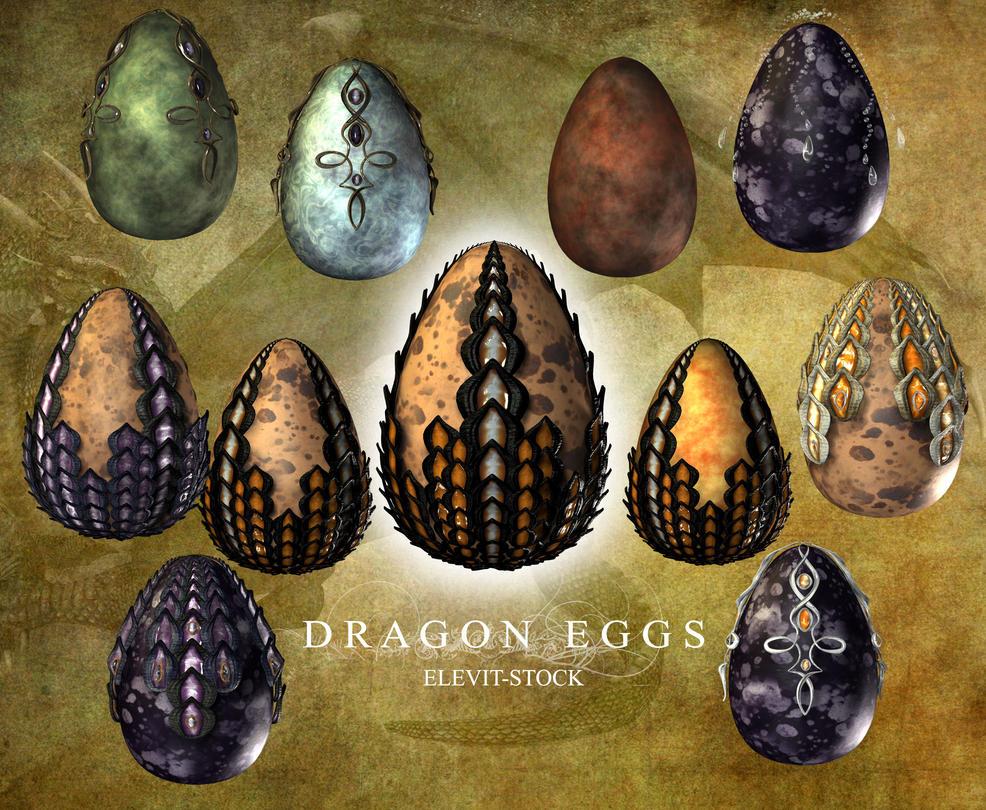 E-S Dragon Eggs II by Elevit-Stock