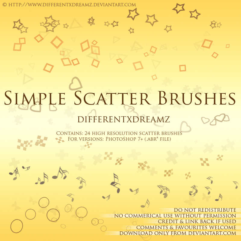 Simple Scatter Brushes
