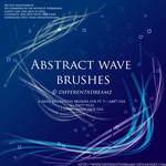 Abstract Wave Brushes
