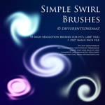Simple Swirl Brushes