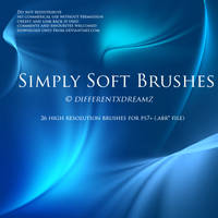 Simply Soft Brushes by differentxdreamz