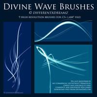 Divine Wave Brushes by differentxdreamz