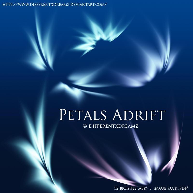 Petals Adrift by differentxdreamz