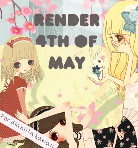 Render 4th of may by Dianiitakawaii