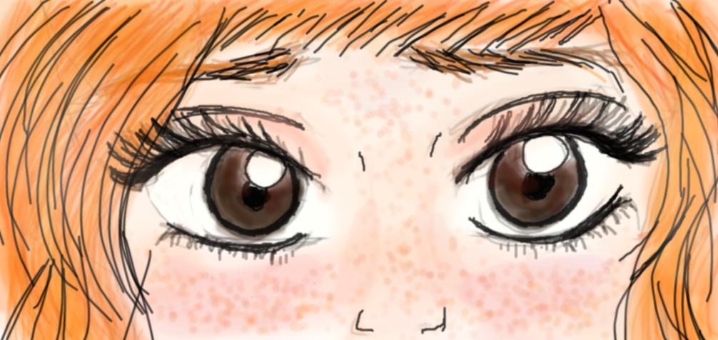 Those Sad Dark Eyes by C-Allagash