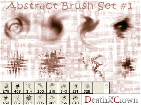 Abstract Brushes 1