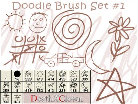 Doodle Brush Set 1