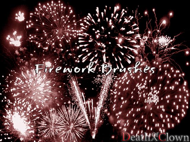 Firework Brushes