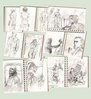 Heros Sketches