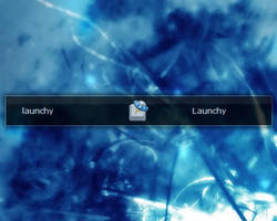 Clearscreen Sharp Launchy Skin by stupid939