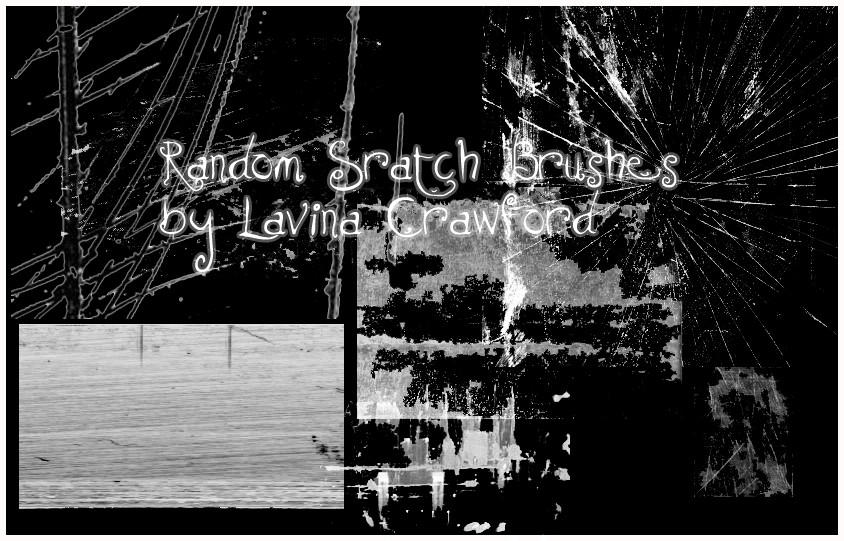 Random Scratch Brushes by lavina15