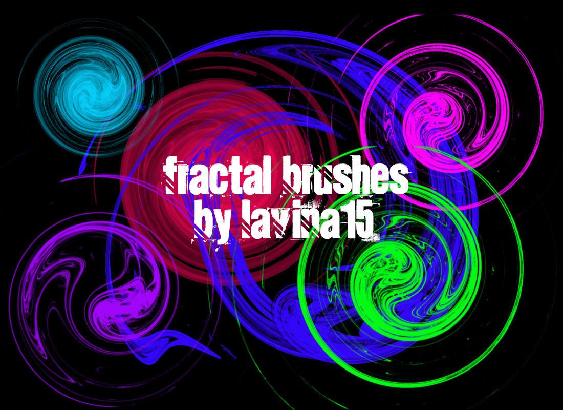Swirls Fractal Brushes by lavina15