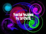 Swirls Fractal Brushes