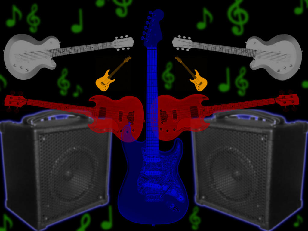 Cool Guitar Brushes by grlady2908