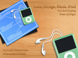 Love, Design, Music, iPod by neo014