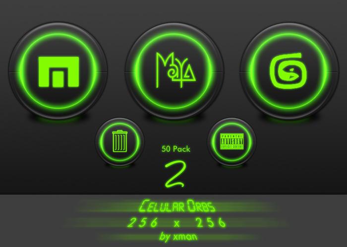Celular Orbs 2 by neo014