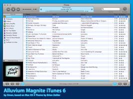 Alluvium Magnite iTunes 6 by neo014