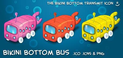 Bikini Bottom Bus by neo014
