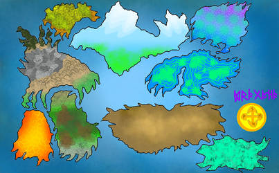 Dragonia map upgraded