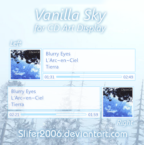 Vanilla Sky for CD Art Display by Slifer2006