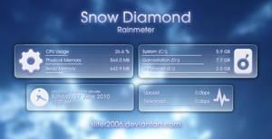Snow Diamond for Rainmeter