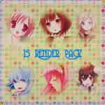 15 render pack