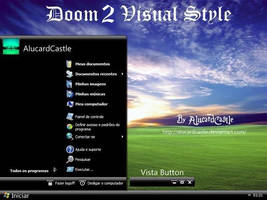 Doom Visual Style for XP by AlucardCastle