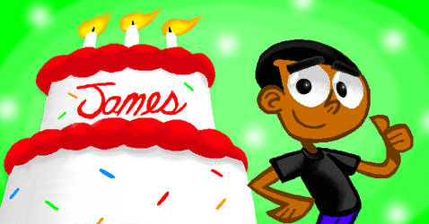 Happy Birthday, AnimatedJames!