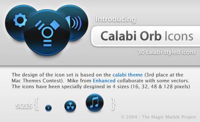 Calabi Orb Icons by HybridRainbow2004