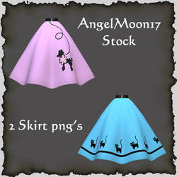 Poodle Skirts Stock by AngelMoon17