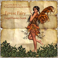 Forest Fairy by AngelMoon17