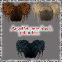 Hair Stock by AngelMoon17