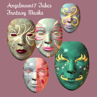 Angelmoon17 Fantasy Masks