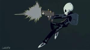 Skeleton-shooting