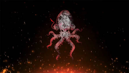 Octopus is on fire