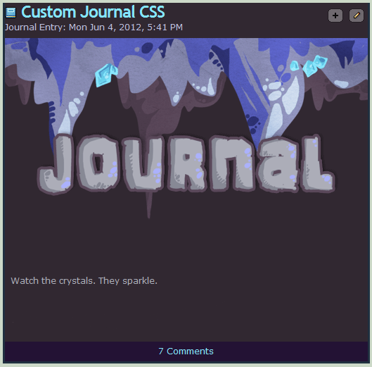 Cave Journal Skin by Stickaroo