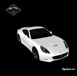 Ferrari California - Hyp'Space Animation